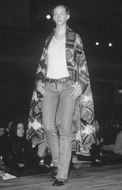 Miguel Adrover, spring 2001 collection. © Fashion Syndicate Press.